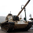 Tank in Cairo Photo: Reuters
