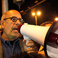 Mohamed ElBaradei protesting in Cairo Photo: Reuters
