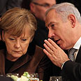 Netanyahu and Merkel Photo: Gil Yohanan