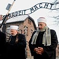 Muslim leaders in Auschwitz in 2011 (archives) Photo: AP