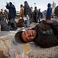 Tired after two-week protest Photo: Reuters