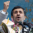 Ahmadinejad. 'It's their right to be free' Photo: AFP