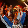 Overjoyed protestors in Cairo Photo: Reuters