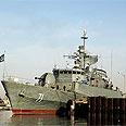 Iranian warship Photo: Fars news agency