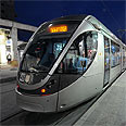 Jerusalem's light rail Photo: Guy Assayag