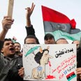 Protesters in Libya Photo: Reuters