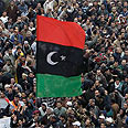 Benghazi rallies against Gaddafi Photo: AP