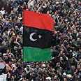Benghazi rallies against Gaddafi Photo: AP