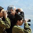 PM tours Jordan Valley Photo: Moshe Milner, GPO