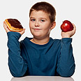 One in four children in Israel is overweight (illustration) Photo: Shutterstock
