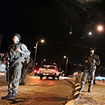 Troops launch manhunt for terrorist Photo: Ido Erez