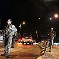 Troops launch manhunt for terrorist Photo: Ido Erez