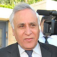 Katsav heads to court Tuesday Photo: Ze'ev Trachtman