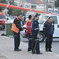 Scene of Beersheba Grad landing Photo: Herzel Yosef