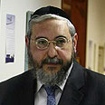 Knesset Member Rabbi Chaim Amsellem Photo: Gil Yohanan