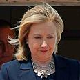 International pressure. Clinton Photo: AP