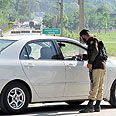 Pakistani soldiers near scene of attack Photo: EPA