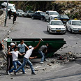 Silwan stone-throwers (archives) Photo: Reuters