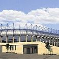 האיצטדיון לאחר סיום הבנייה