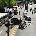 Terror attack in Tel Aviv Photo: Ofer Amram