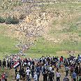 Mraching in the border Photo: Avihu Shapira