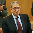 Amr Moussa Photo: AFP