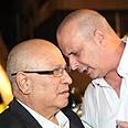 Dagan (L) and Diskin Photo courtesy of Shin Bet