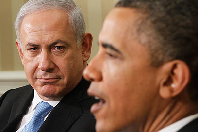 Obama and Netanyahu. 'Convincing through insult? There must be better ways to soften the president's heart' (Photo: AP)