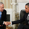 Obama, Netanyahu Photo: Reuters