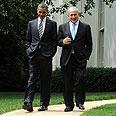 Ringing the bells. Obama and Netanyahu (archives) Photo: Avi Ohayon, GPO