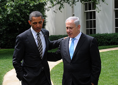 He'll get over it. Obama with Bibi at White House (Archive photo: Moshe Ohayon, GPO)
