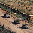 Israel-Syria border Photo: Reuters