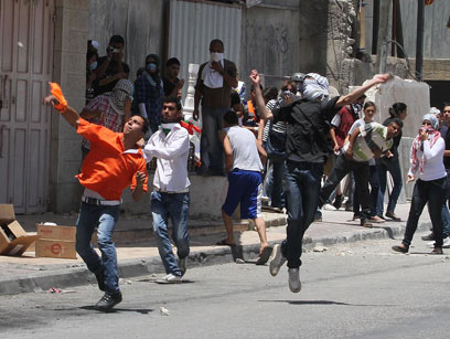 Naksa day riots (Archive photo: Gil Yohanan)