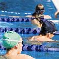 ילדים בבריכה צילום: דורון גולן