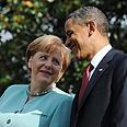With Merkel Photo: MCT
