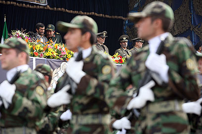 Iran's Revolutionary Guards (Photo: Getty Images)
