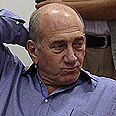 Ehud Olmert Photo: Gil Yohanan