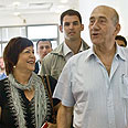 Ehud Olmert - gets his day in court Photo: Noam Moskovich