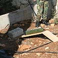 Katyusha found in south Lebanon Photo: Reuters