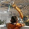 Home razed in east Jerusalem (Archives) Photo: AP