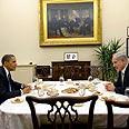 Obama (L) and Netanyahu Photo: Pete Souza, White House