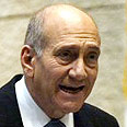 'Israel can't afford it.' Olmert Photo: AFP
