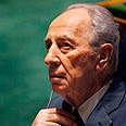 Peres - Doesn&#39;t he see Oslo failed? Photo: AP
