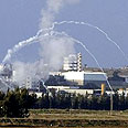 Mortar fire from Gaza (Archive) Photo: AP