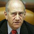 PM Ehud Olmert Photo: AFP