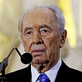 Peres. 'I don't even talk to myself' Photo: AP