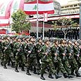 Lebanese army. On alert Photo: Reuters