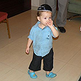 'He only responds to her,' - 2-year-old Moshe Photo: Chabad Info