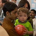 The son Moishi. 'No parents to hug you' Photo: AP