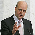 Swedish PM Fredrik Reinfeldt Photo: Reuters